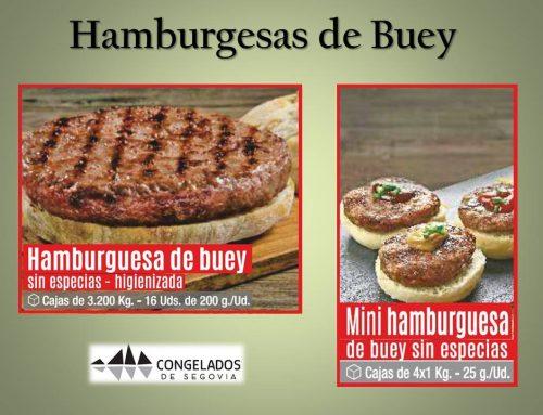 Promoción Hamburguesa de Buey