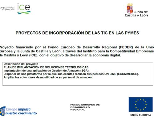 Concesión de ayudas de la Junta de CyL para la implantación del E-commece